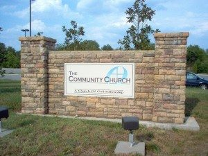 church-sign